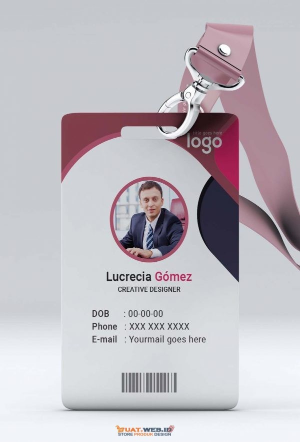 Template ID Card 005