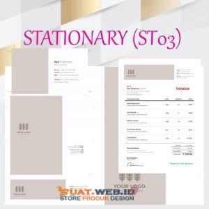 Jual Template Design Stationary Atk Kantor