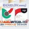 Template ID Card 003-1